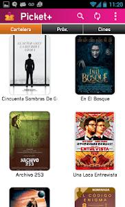 Picket - Cartelera de Cines screenshot 1