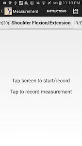 yROM Shoulder Elbow Goniometer screenshot 1