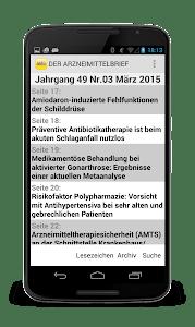 DER ARZNEIMITTELBRIEF screenshot 1