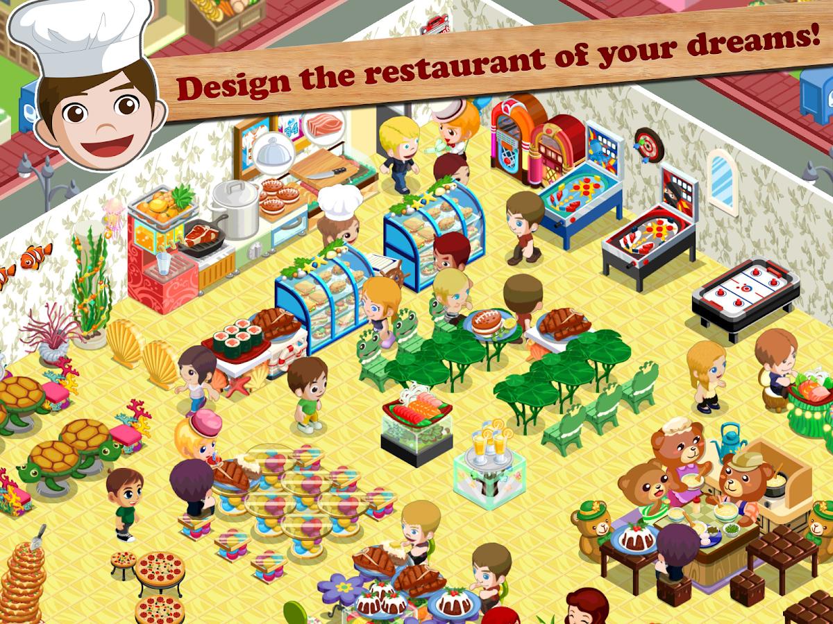 Play Online Restaurant Games