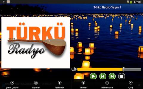 Türkü Radyo Resmi Uygulama screenshot 7