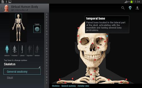 Virtual Human Body screenshot 13