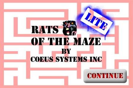 Rats of the Maze Lite screenshot 3