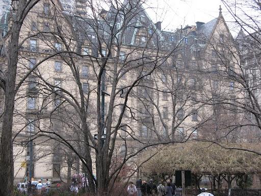 The Dakota Hotel in NYC