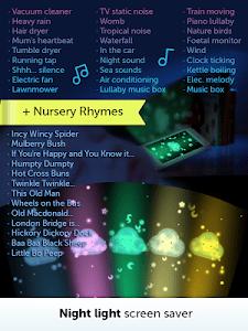 Baby White Noise+Nursery Rhyme screenshot 8