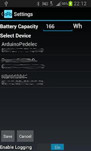 Arduino Pedelec HMI screenshot 1
