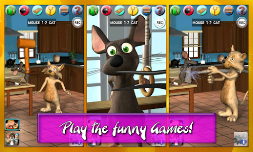 Talking Cat Vs. Mouse Deluxe screenshot 13
