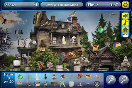 Hidden Objects Haunted Worlds screenshot 1