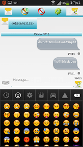 SMS Proof - Sms Blocker screenshot 1