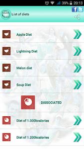BMI Ideal weight and calories screenshot 13