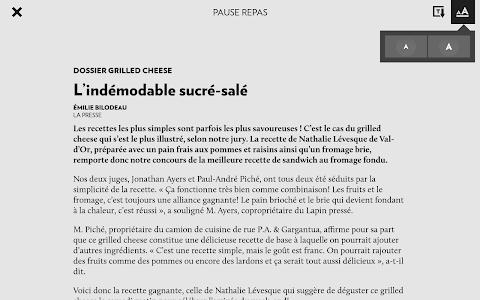 La Presse+ screenshot 13