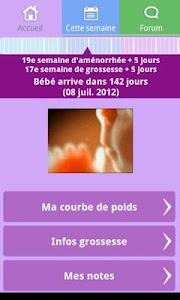 Suivi de grossesse - Donation screenshot 0