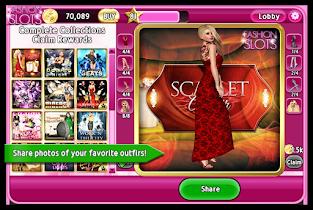 Fashion Slots - screenshot thumbnail 06
