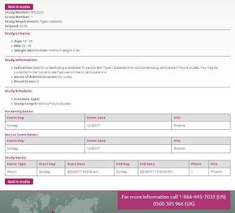 Celerion Clinical Studies screenshot 6