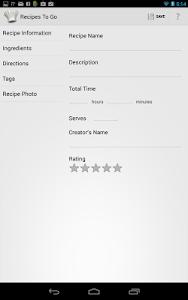 Recipes to Go screenshot 9