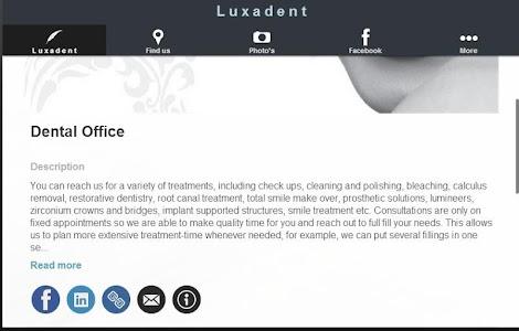 Luxadent Dental Office screenshot 5