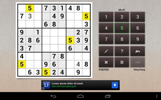 Andoku Sudoku 2 Free screenshot 12