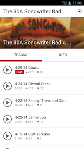 30A Songwriter Radio screenshot 13