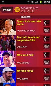 Sambabook Martinho da Vila screenshot 2