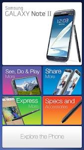Galaxy Note II Retail Mode screenshot 0