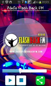 Rádio Flash Back FM screenshot 0