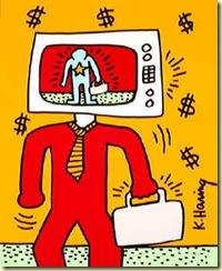 Haring_-_TV_Man