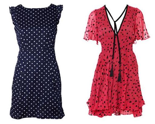 Polka Dot Dresses at Oliver Bonas