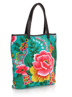 Exotic Printed Mexicana Shopper Bag by Accessorize