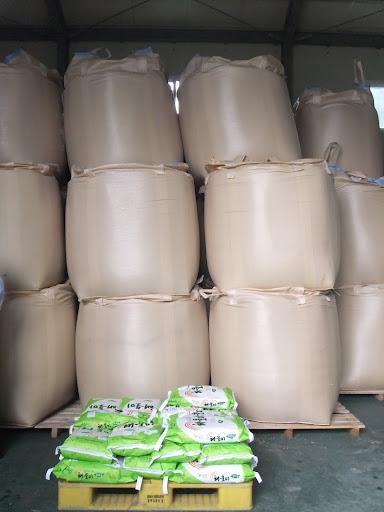 stored rice