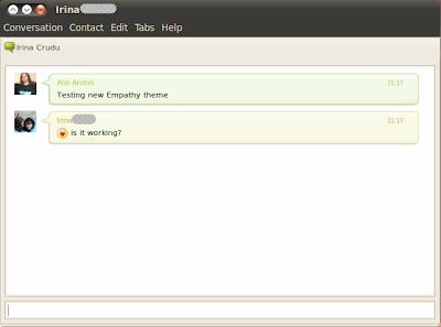 empathy theme ubuntu 10.04 screenshot