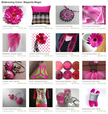 Etsy Picks: Magenta Magic