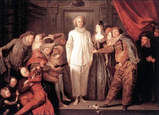 Jean-Antoine Watteau, Comédiens Italiens