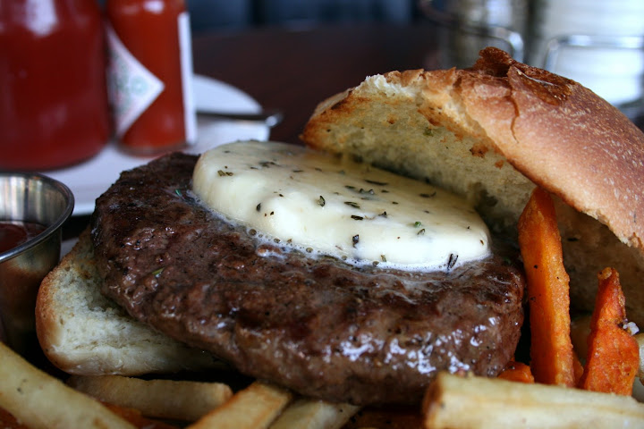Bourbon Butter Burger