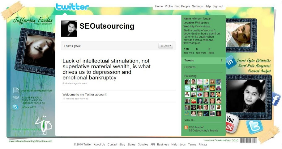 Virtual Outsourcing Philippines : SEOutsourcing