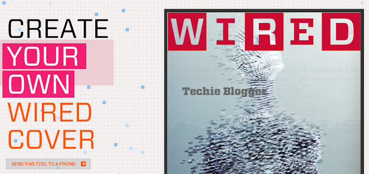 Condenet :  Create Your own WIRED cover