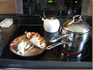 Steamed Crab and baking 002