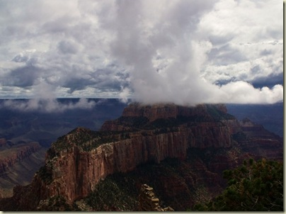 Wontons Throne from Cape Royal North Rim Grand Canyon National Park Arizona