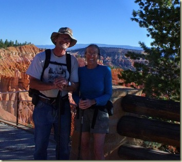 Mike & Gaelyn Navajo Loop trailhead Bryce Canyon National Park Utah