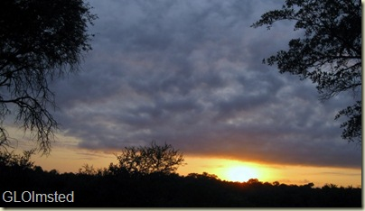 Sunrise Kruger National Park Mpumalanga South Africa