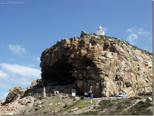 St Blaize Cave below lighthouse Mossel Bay Garden Route Western Cape South Africa