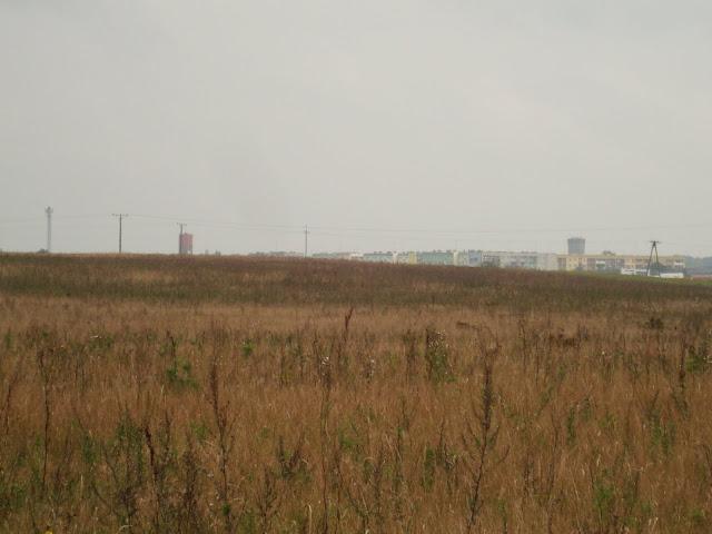 Człuchów! Z prawej wieża zamkowa, z lewej - wieża ciśnień