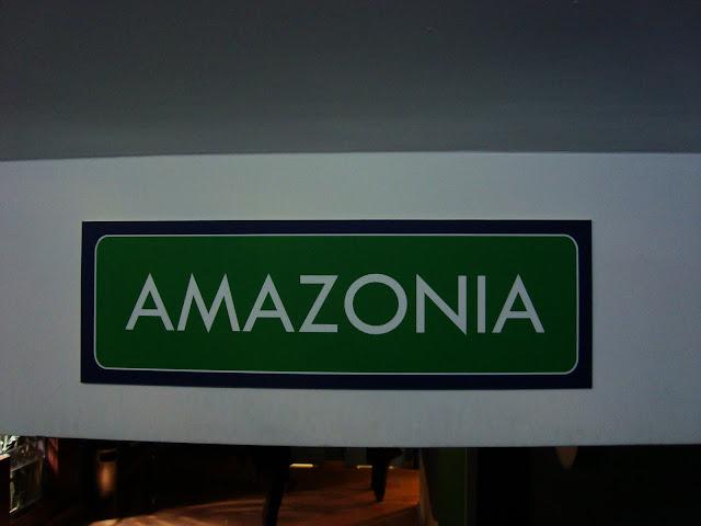 """Sala """"Amazonia"""" znajduje się na parterze Akwarium Gdyńskiego"""