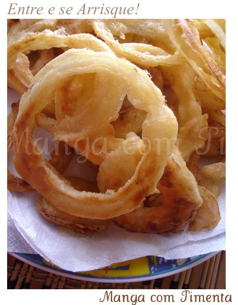 Onion Rings ou as famosas Cebolas Fritas