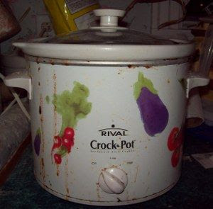A well used crockpot