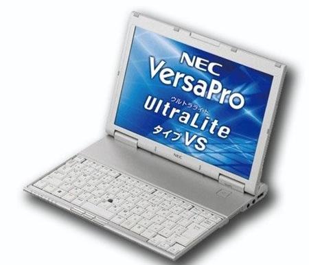 NEC VersaPro UltraLite Mbukak