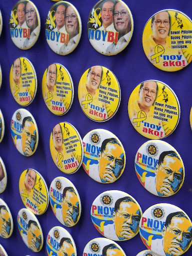PNoy Pin Buttons