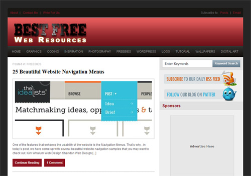 BEST FREE WEB RESOURCE