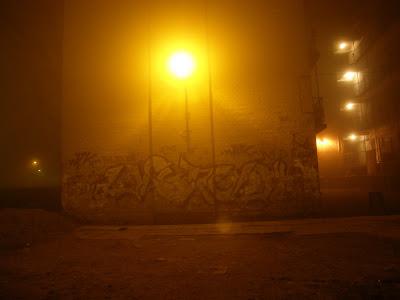 Budapest, köd, homály, este, fog, brouillard, nacht, by night, haze, Mist, nebelig, nebulous, Roma Holocaust Emlékmű