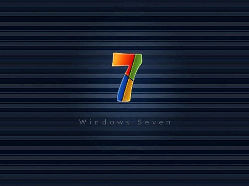 Blue 3d Windows 7 Desktop Wallpaper Download: [Only Registered users can see