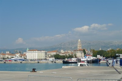 Split, from the bus stop